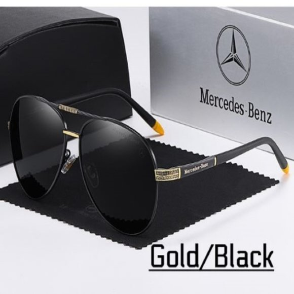 Mercedes Benz Polarized Men's Sunglasses With Case